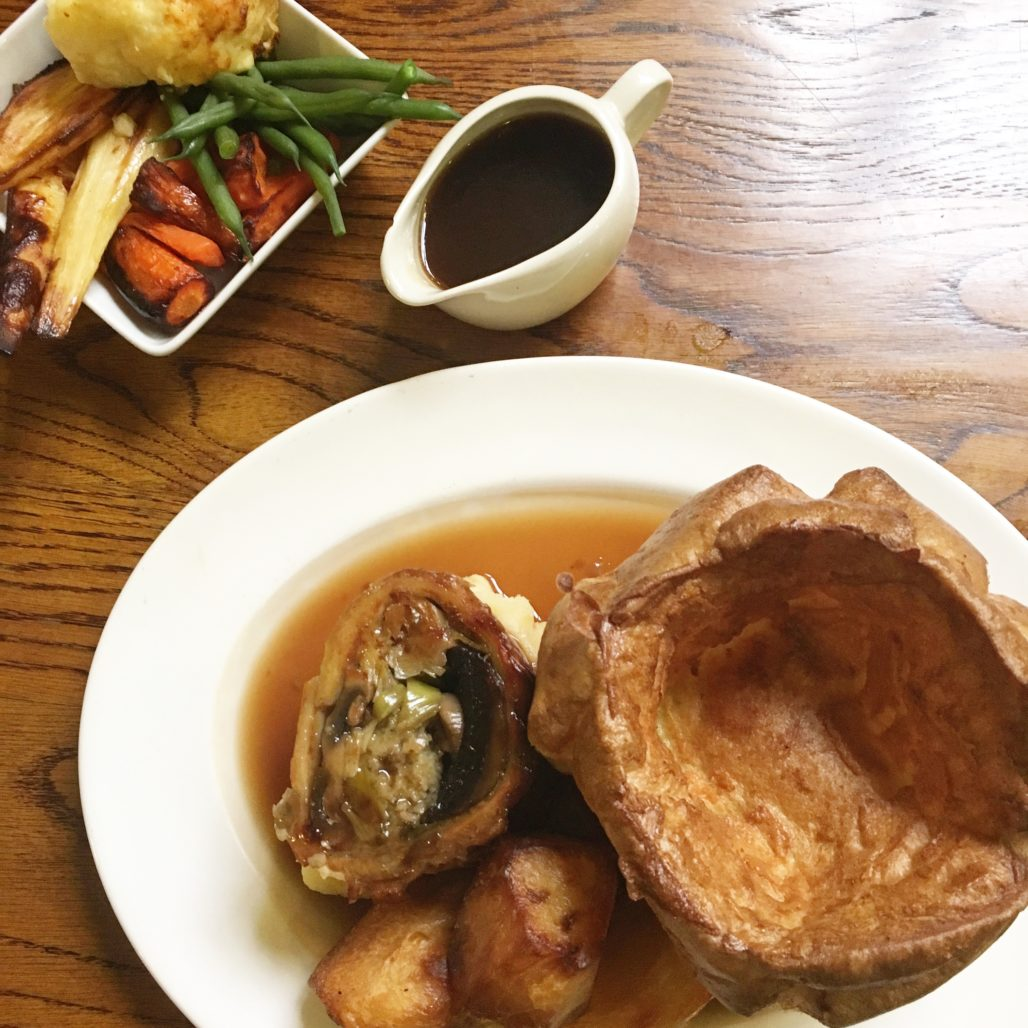 Sunday Roast mit Yorkshire Pudding