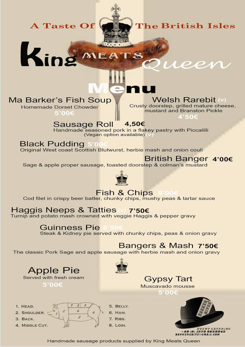 king meats queen berlin