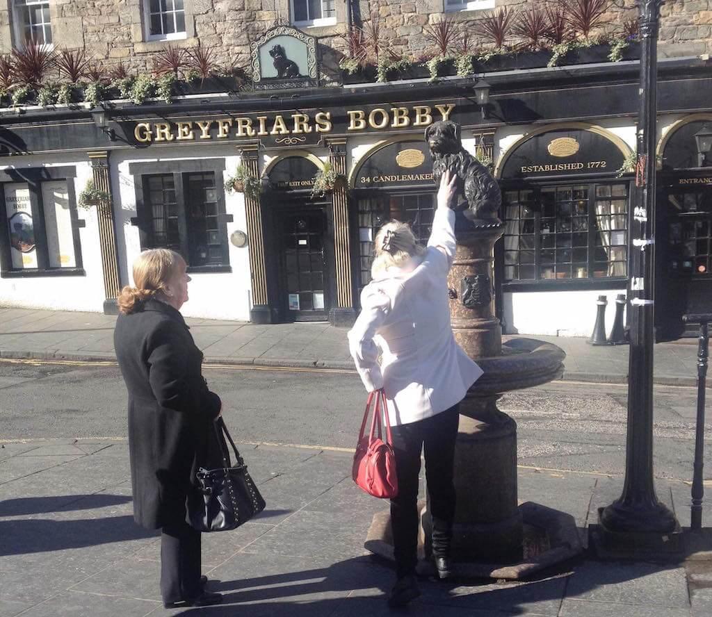 bobby statue edinburgh