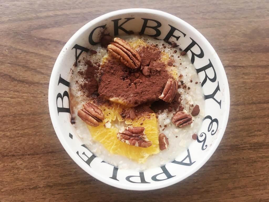 schoko-orangen-porridge