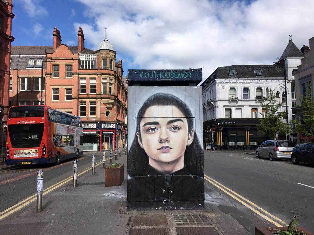 game of thrones streetart manchester