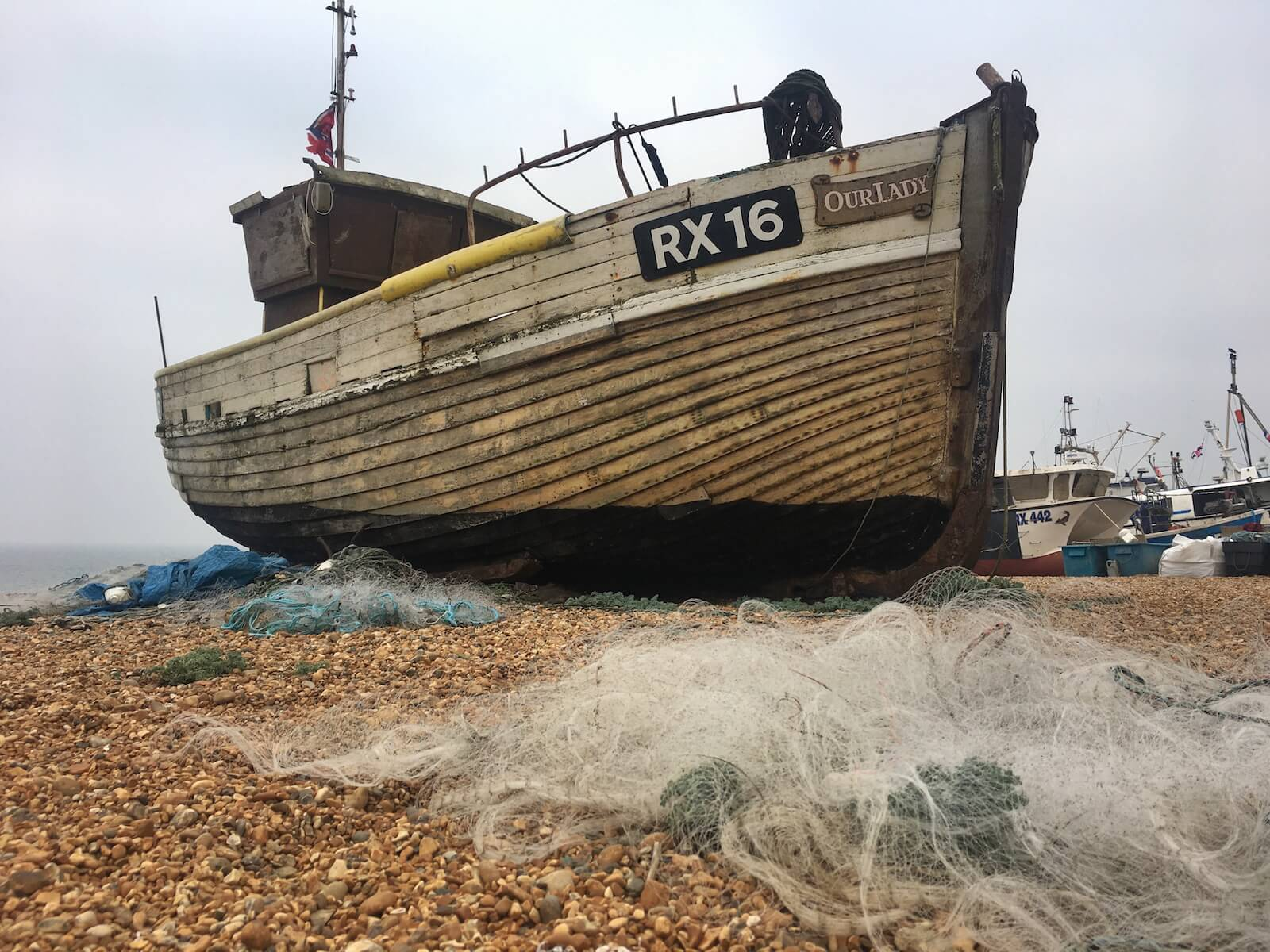 fischerboot hastings england