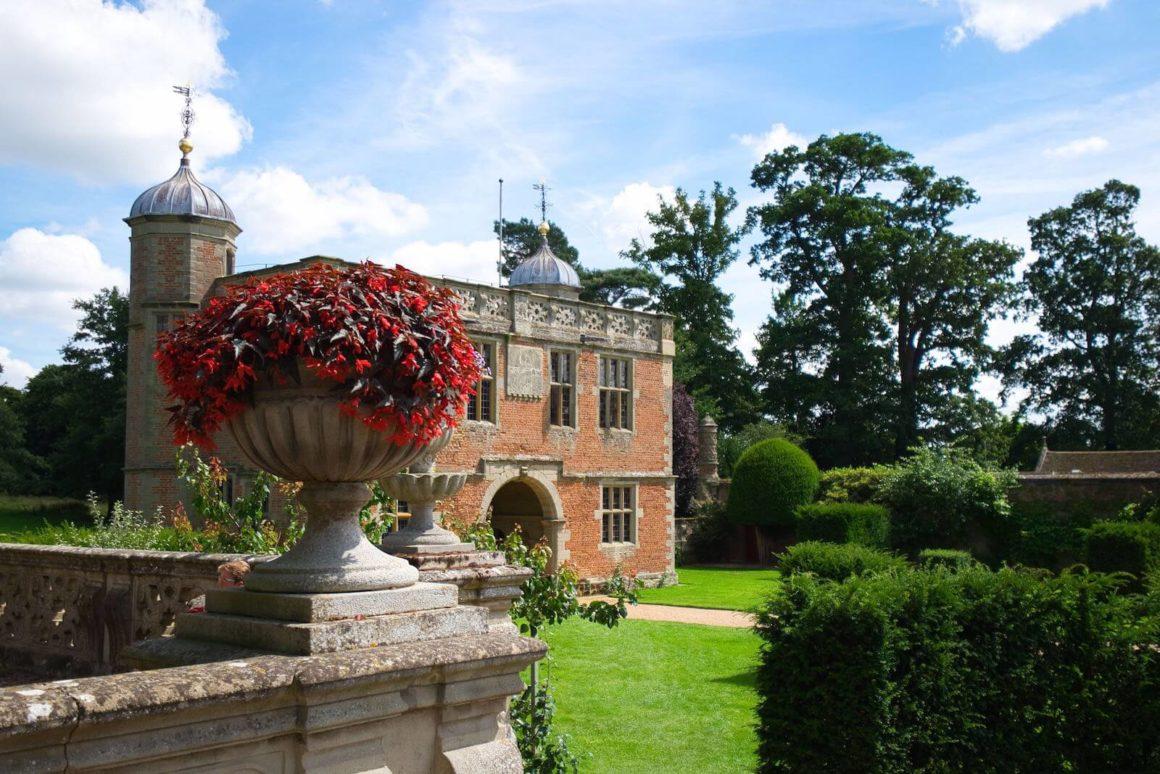 Herrenhaus Charlecote Park in Warwickshire.